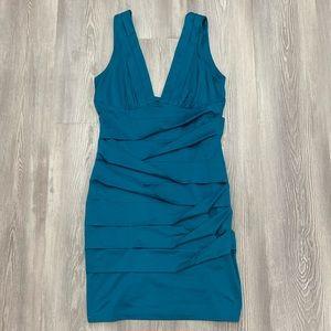 Forever 21 Medium teal banded Dress